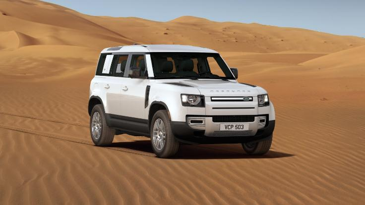 I'm one step closer to my perfect NEW LAND ROVER DEFENDER. See configuration.